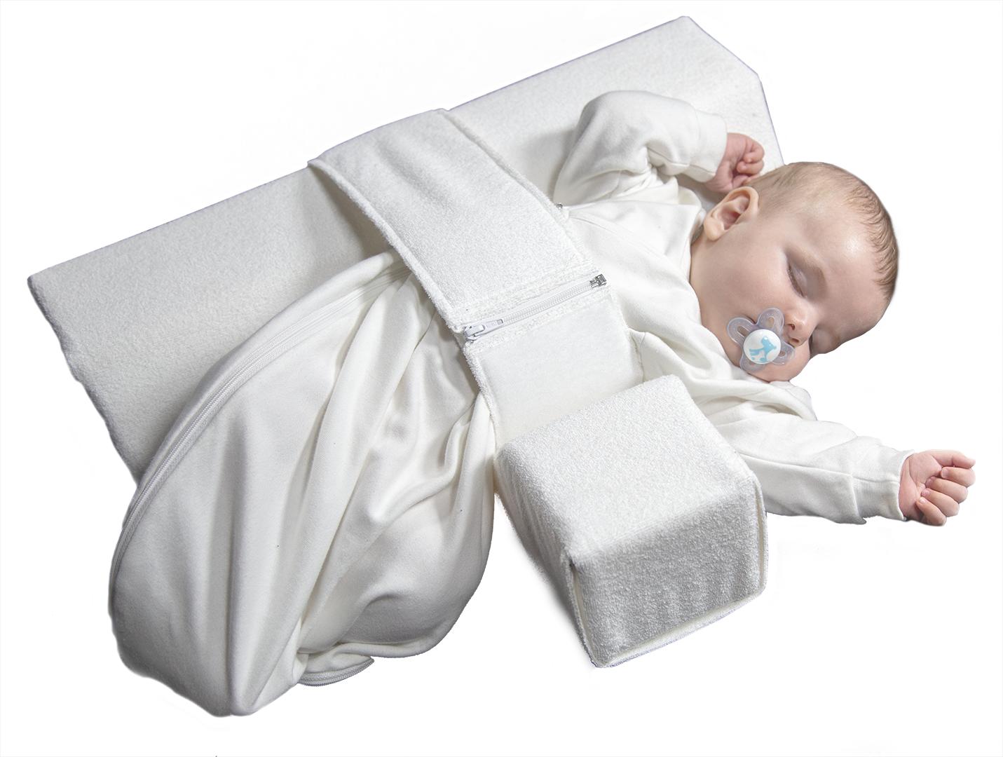 Produktbild Seitenansicht Seitenlagerungsschiene VARILAG Baby Lagerungskissen