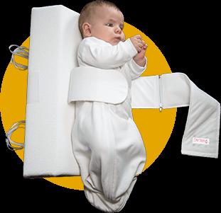 Das Baby Lagerungskissen von VARILAG anlegen Bild 1