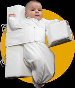 Das Baby Lagerungskissen von VARILAG anlegen Bild 3