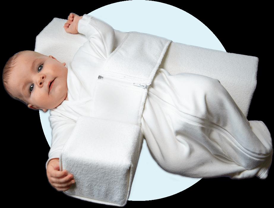 Das Baby Lagerungskissen von VARILAG anlegen Bild 5