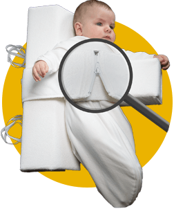 Das Baby Lagerungskissen von VARILAG anlegen Bild 4